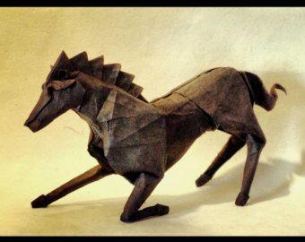 origami horse instructions advanced