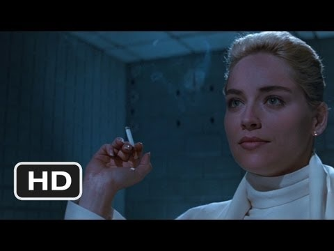 Basic Instinct Movie Clip - watch all clips http://j.mp/LCWF2P click to subscribe http://j.mp/sNDUs5  Detective Nick Curran (Michael Douglas) and his colleagues interrogate Catherine Tramell (Sharon Stone) about a recent murder.  TM & © Lionsgate (2012) Cast: Michael Douglas, Sharon Stone, Denis Arndt, Chelcie Ross, Wayne Knight Director: Paul V...