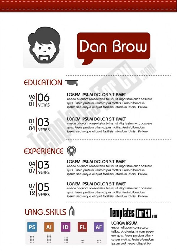 23 best #cv images on Pinterest Resume ideas, Resume tips and - resume en espanol