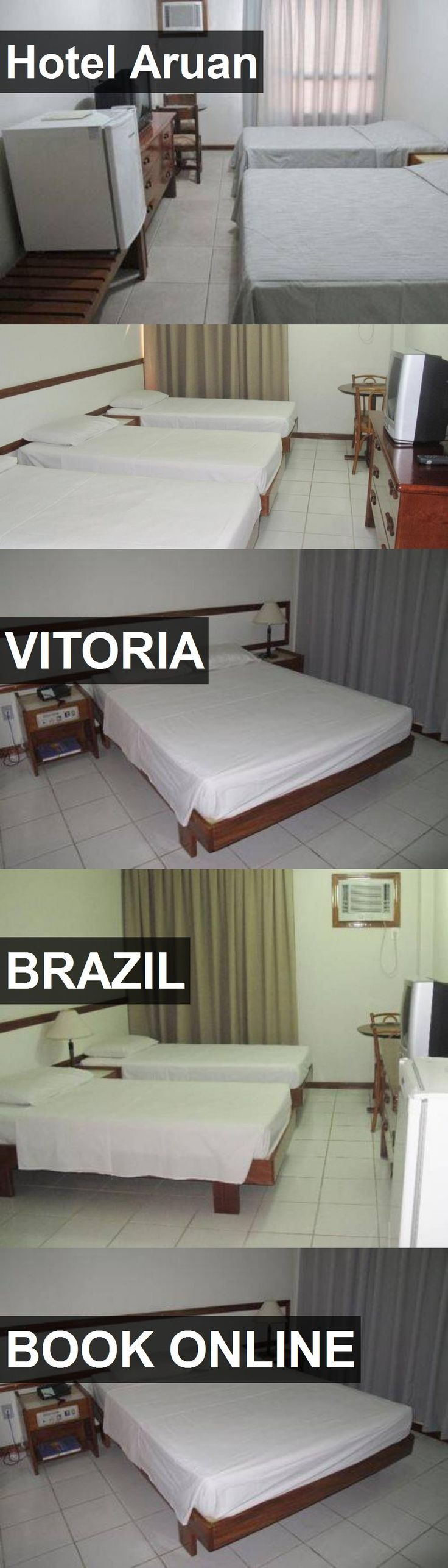 Hotel Aruan in Vitoria, Brazil. For more information, photos, reviews and best prices please follow the link. #Brazil #Vitoria #travel #vacation #hotel