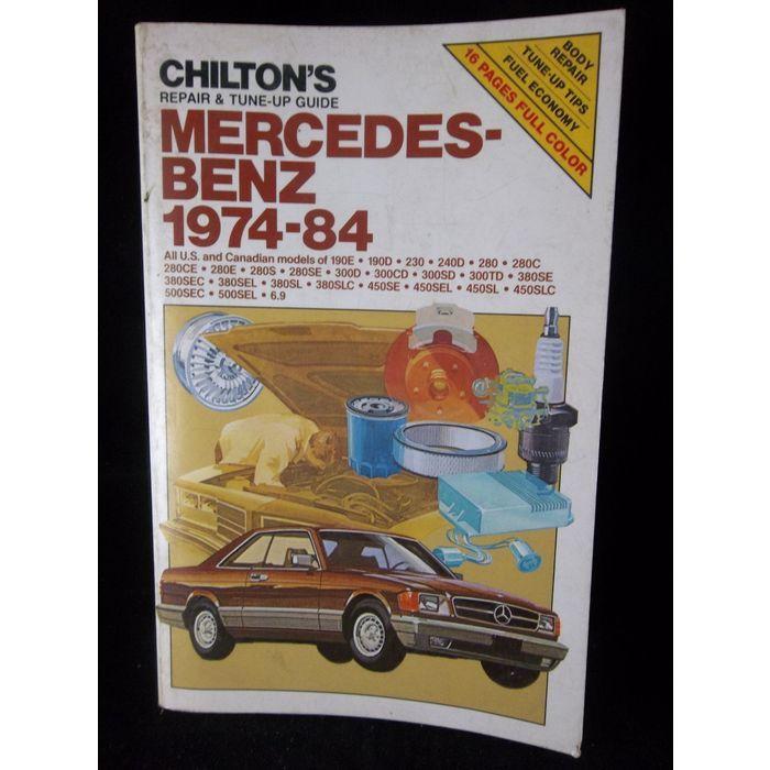 1974 1984 Mercedes Benz 190 230 240 280 300 380 450 500 Chilton Repair Manual 6809 In 2020 Repair Manuals Chilton Repair Manual Mercedes Benz