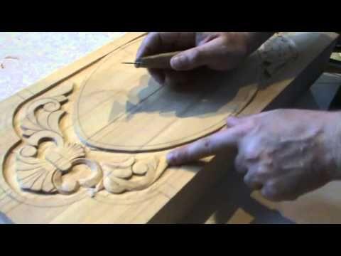 как сделать нарды Плоско рельефная резьба - YouTube