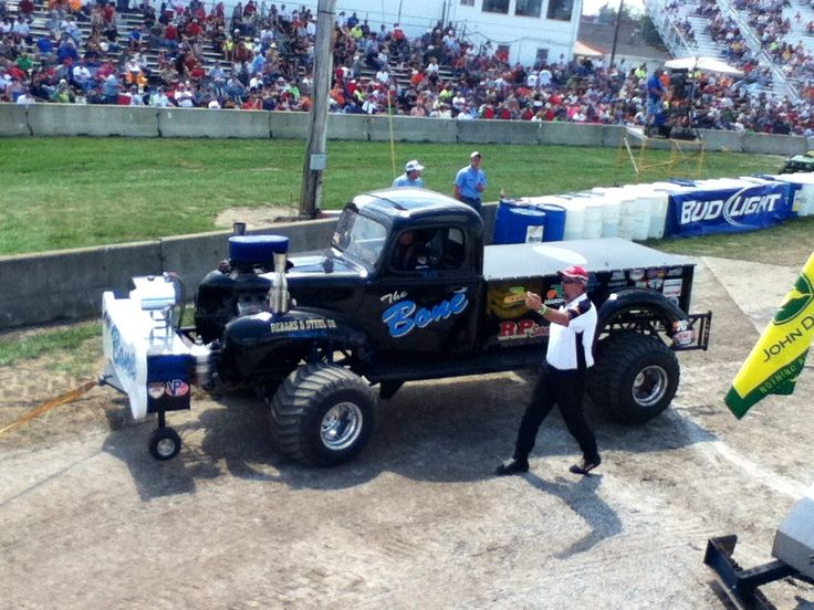 Power Wheels Tractor Pull : The bone bowling green oh truck and tractor