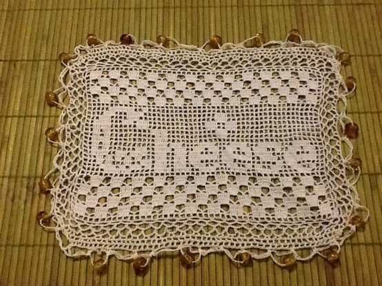 Beaded cheese cover