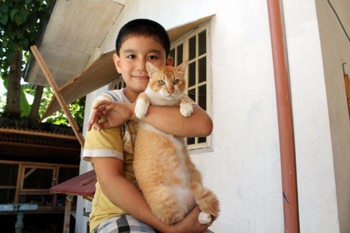 11χρονος έσωσε έξι αδέσποτα κουτάβια που λιμοκτονούσαν. Ένα χρόνο αργότερα είναι…