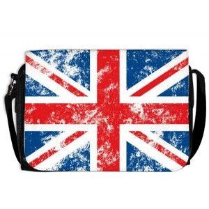 Sacoche union jack drapeau anglais - Cassandre-deco