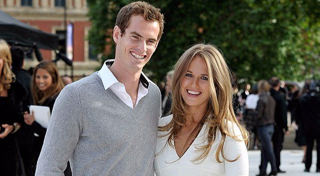 Andy Murray with his beloved wife Kim Sears
