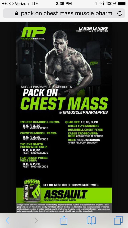 16 best MusclePharm Chest images on Pinterest | Exercise ...