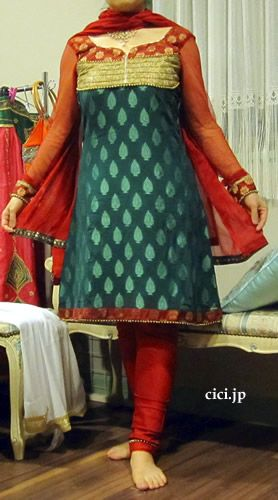 インドの民族衣装/パンジャビドレス/パンジャビスーツ/通販