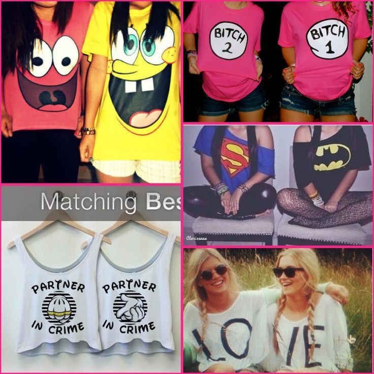 Matching Best Friend Clothing :