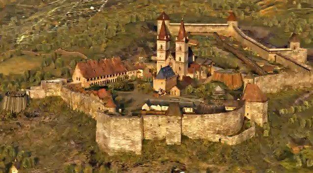 Egri vár - ilyen lehetett egykoron