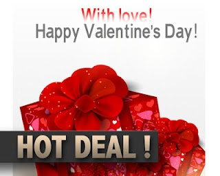 To selling Valentine's Day products!