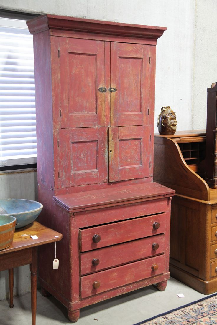 Country secretary mid 19th century old american pinterest for Furniture 0 interest