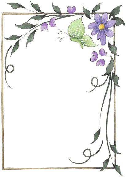 vlinder en paarse bloem