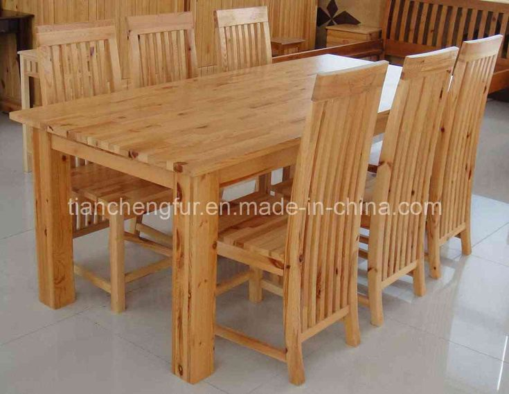 20+ Pine Dining Room Table and Chairs - Modern Vintage Furniture Check more at http://www.ezeebreathe.com/pine-dining-room-table-and-chairs/