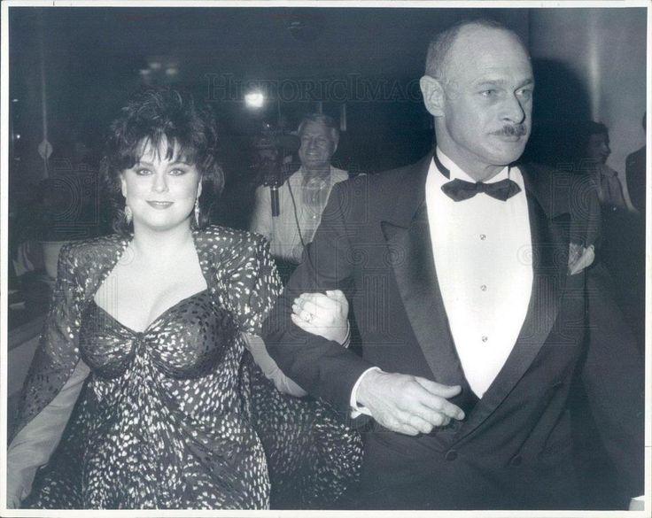 1990 Press Photo Actors Delta Burke, Gerald McRaney - rkf15141