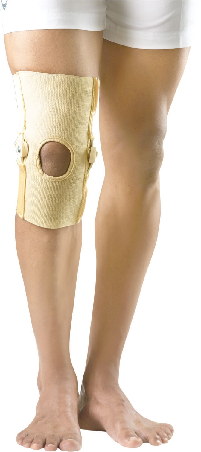 how to tape a knee for patella support