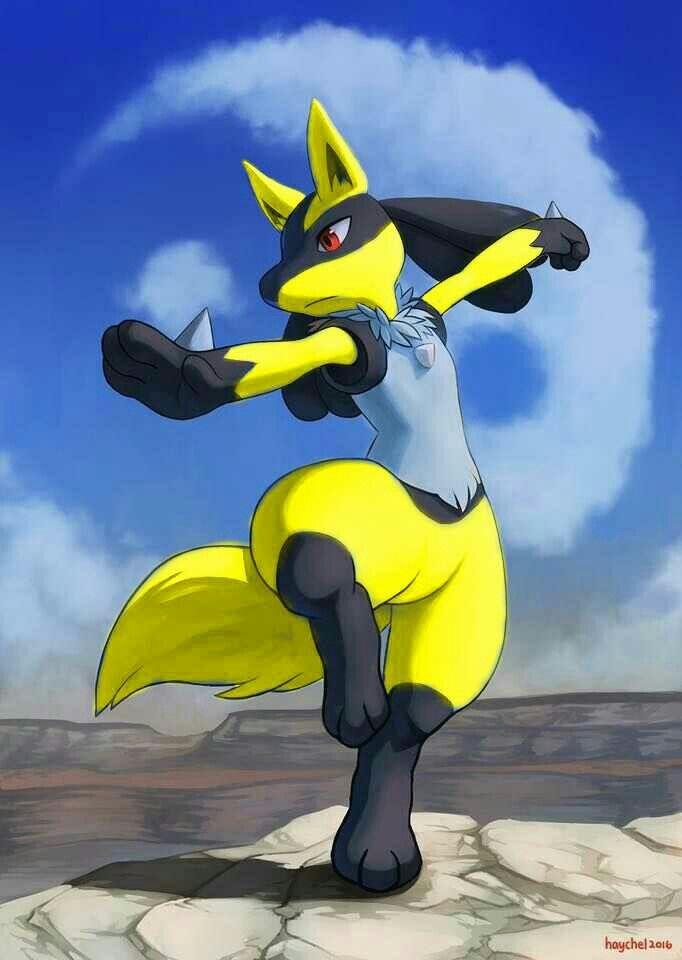 Shiny Lucario Pokémon Desenho Pokemon Fofo Pokemon