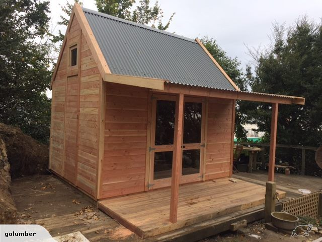allwood sheds mezzanine floor sleepout 36 x 28m new zealand made exterior either oregon or - Garden Sheds Oregon