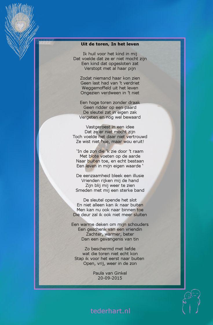 #Gedicht #eigenwaarde #ivoren toren #Teder Hart ...