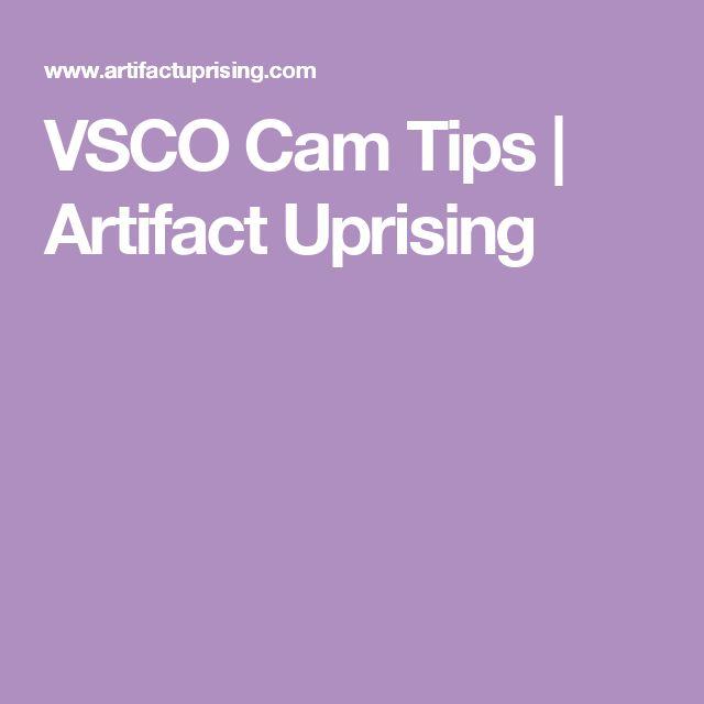 VSCO Cam Tips | Artifact Uprising