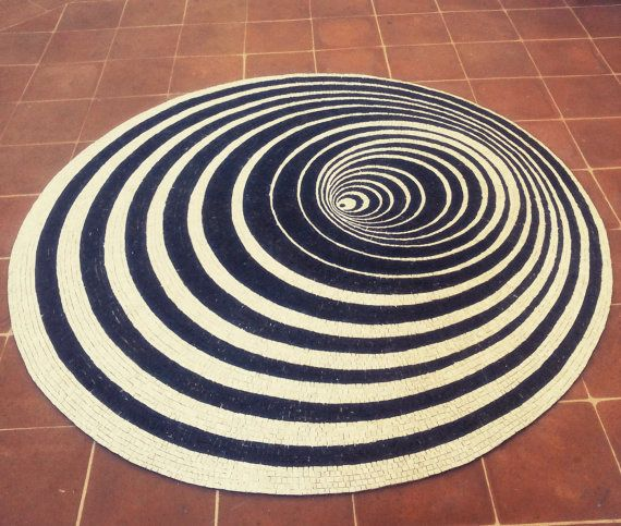 Rug mosaic. Flexible mosaic rug. Stone by LaTenagliaImpazzita