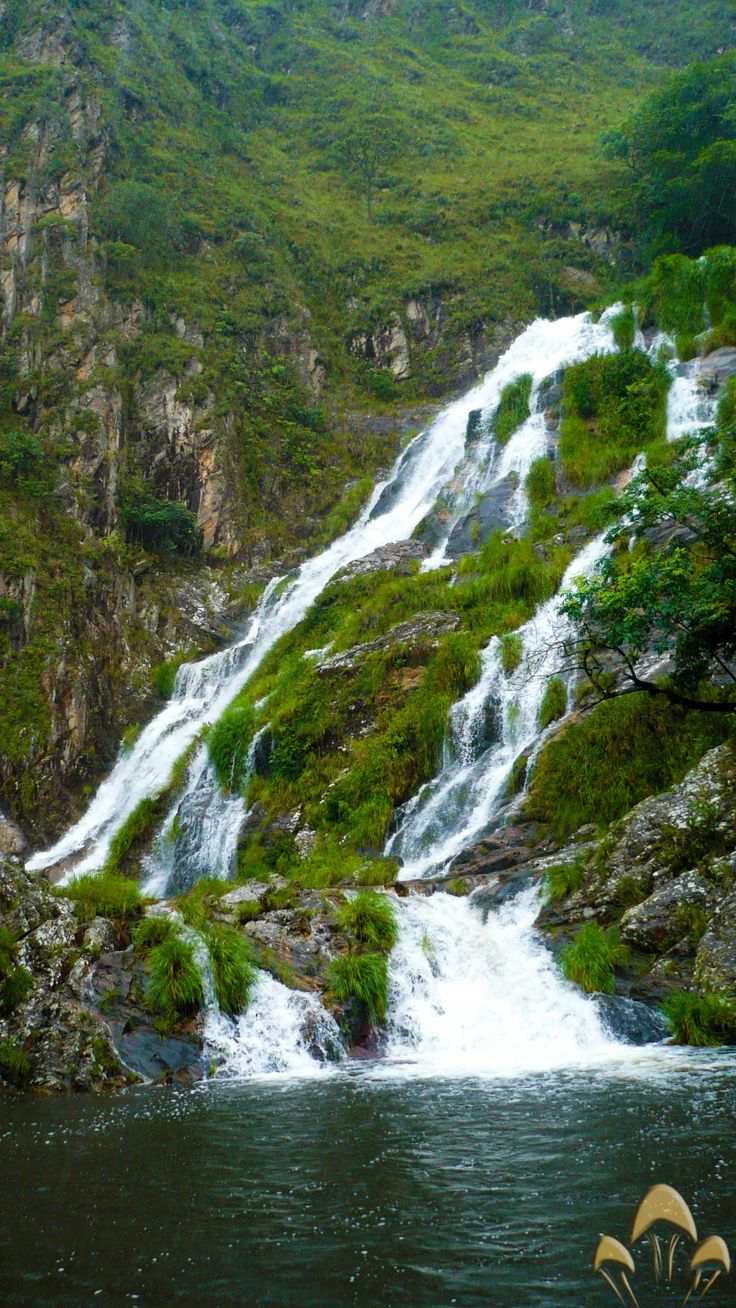 Cachoeira da Maria parte alta - Serra da Canastra Minas Gerais
