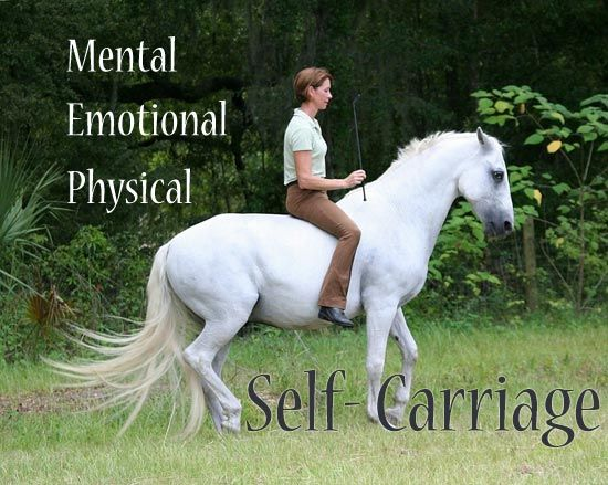 Horses for LIFE - Online Horse Magazine - Natural to Classical Dressage - Educated Horsemanship - http://horsesforlife.com/Self-Carriage