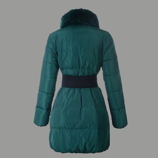 doudoune marque femme, Femme Doudoune pas cher Lievre 12W Vert, blouson en cuir femme