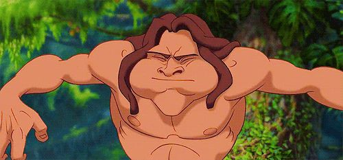 Tarzan, Tarzan | Community Post: The Definitive Ranking Of Disney Character Hairstyles