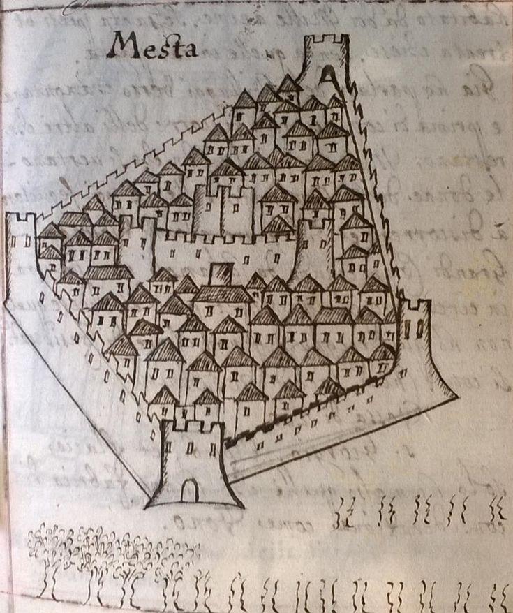 Εικ. 8. Ο τειχισμένος οικισμός των Μεστών