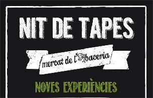 #AGENDA: Nit tapes  - Mercat Abaceria http://bit.ly/1lZBVWo