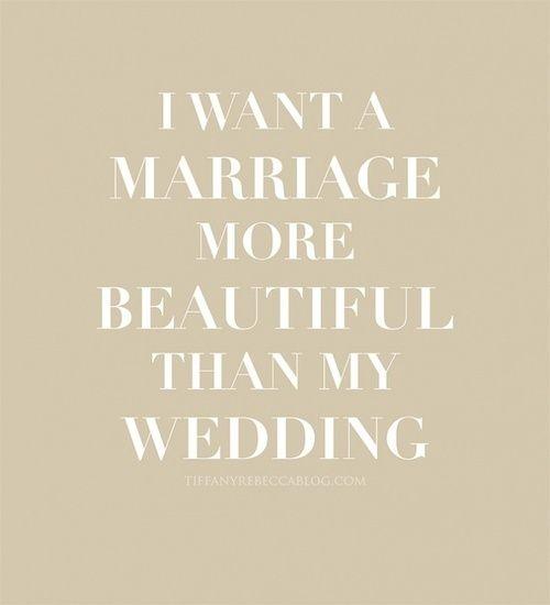"""Quem não quer? (""""Quero uma vida de casada mais bonita que minha festa de casamento"""") <3"""