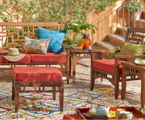 Shop Pier 1 Outdoor Furniture: The Bandengan Collection.