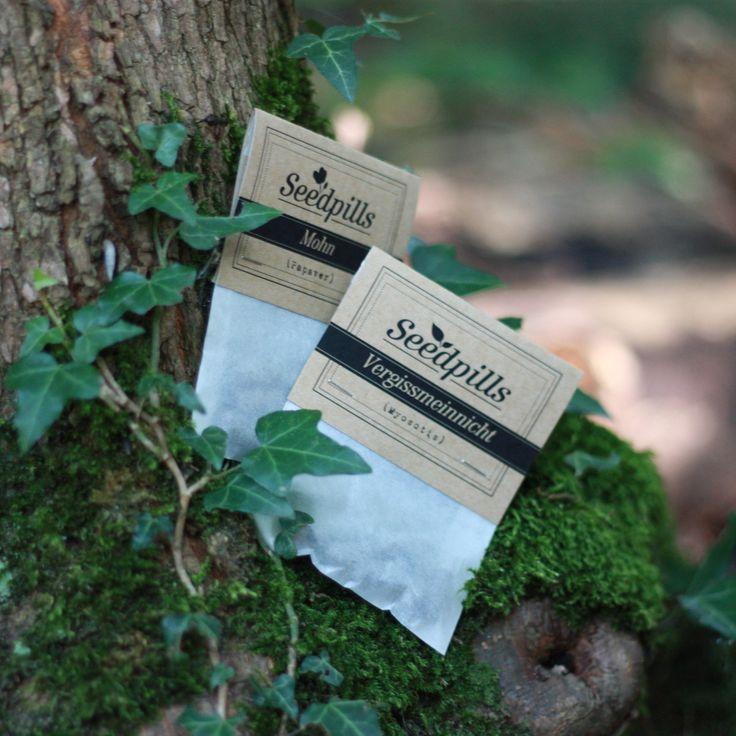 Seedpills! Pillen zum Pflanzen. #urbangardening