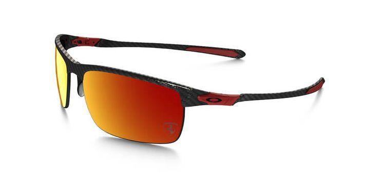 BRAND NEW Oakley Special Edition Scuderia Ferrari Polarized Carbon Blade..... carbon fiber sunglasses