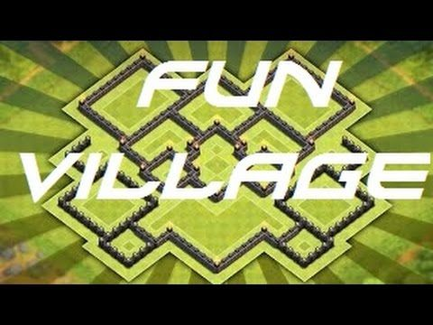 Fun village Clash of clans!!