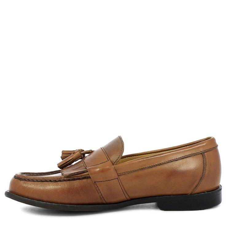 Nunn Bush Men's Keaton Medium/Wide Tassel Loafers (Tan Leather)