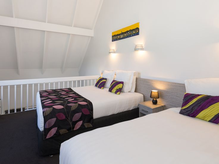 All 1 Bedroom mezzanine rooms have 1 x Superking and 1 x Single bed