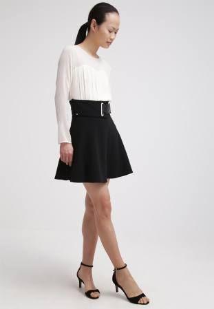 Elisabetta Franchi Gonna Falda Acampanada Nero vestidos y faldas Nero Gonna Franchi falda Elisabetta Acampanada CentralModa.eu
