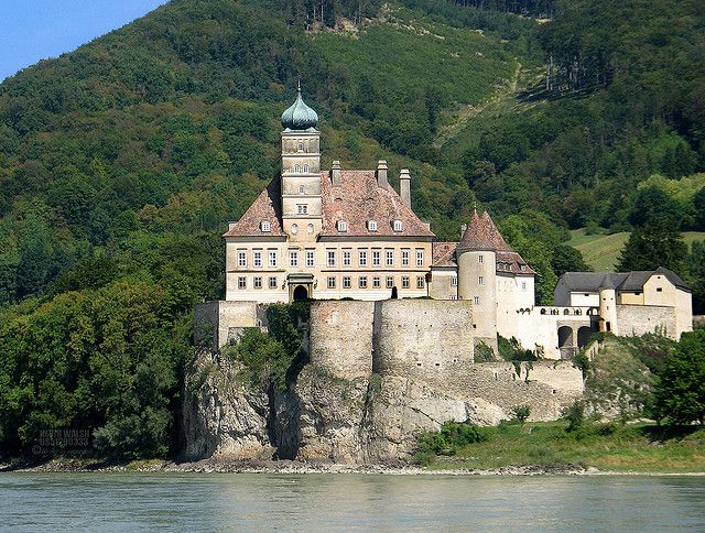 Wachau Valley Castle, Austria (One of many castles I saw on the Danube when taking a boat from Melk to Krems)