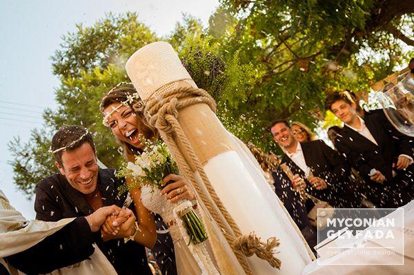 Greek Island Wedding | Stylish Boho Wedding | Konstantinos & Maria Tzia 26.07.2014