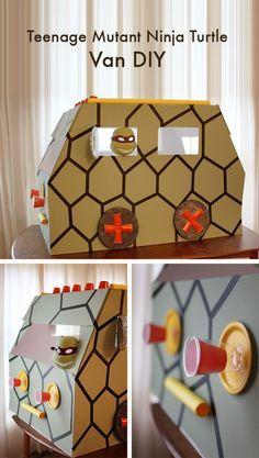DIY ninja turtle van