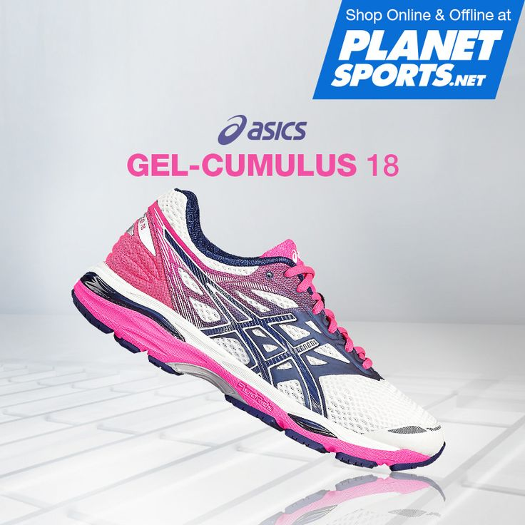 The GEL-CUMULUS 18 shoe features our Rearfoot and Forefoot GEL Cushioning System for strike-specific shock attenuation to create smoother transitions. The FluidRide Midsole technology provides neutral runners with enhanced comfort and a spring-loaded ride when running longer distances.
