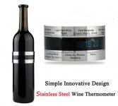 Stainless Steel Wine Bracelet Therm...