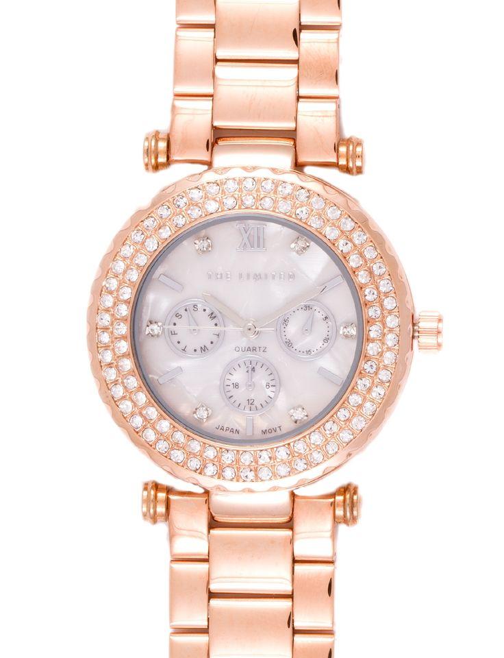 Boyfriend Chronograph Watch | Women's Jewelry | THE LIMITED