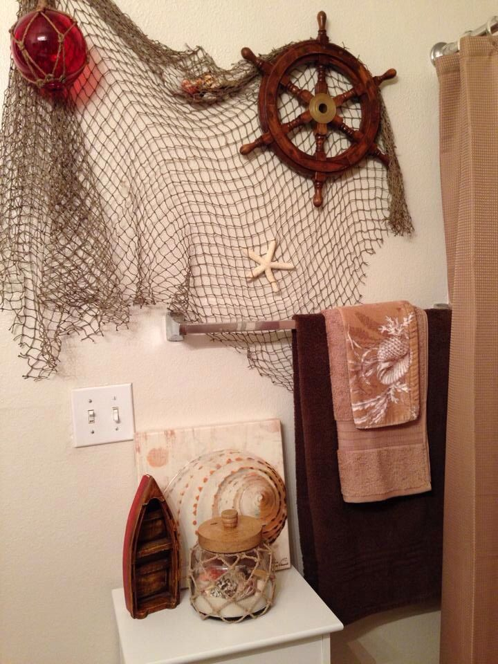 My Son 39 S Nautical Themed Bathroom Home Decor Pinterest