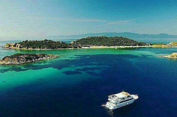 Ammouliani island, Chalkidiki, Greece