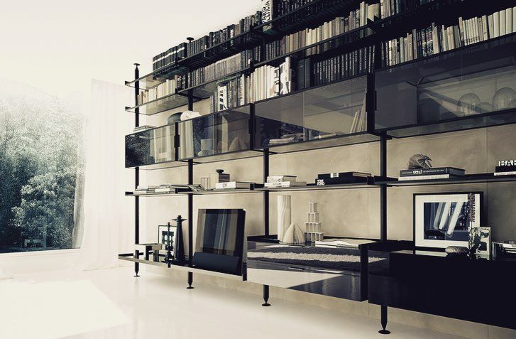 "79 Likes, 1 Comments - Vesuvio Luxury Interiors (@vesuvioluxuryinteriors) on Instagram: ""The innovative sectional system to furnish living-rooms and walk-in closets, conceived to display…"""