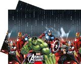 Plastic Marvel Avengers Assemble Tablecloth, 1.8m x 1.2m